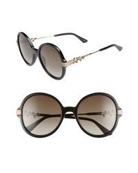 Jimmy Choo Adria 55mm Round Sunglasses