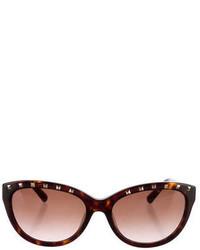 Valentino Rockstud Tortoiseshell Sunglasses