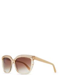 Sophia embellished sunglasses nude medium 190626