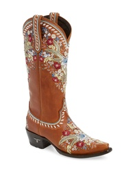 Lane Boots Chloe Embroidered Western Boot