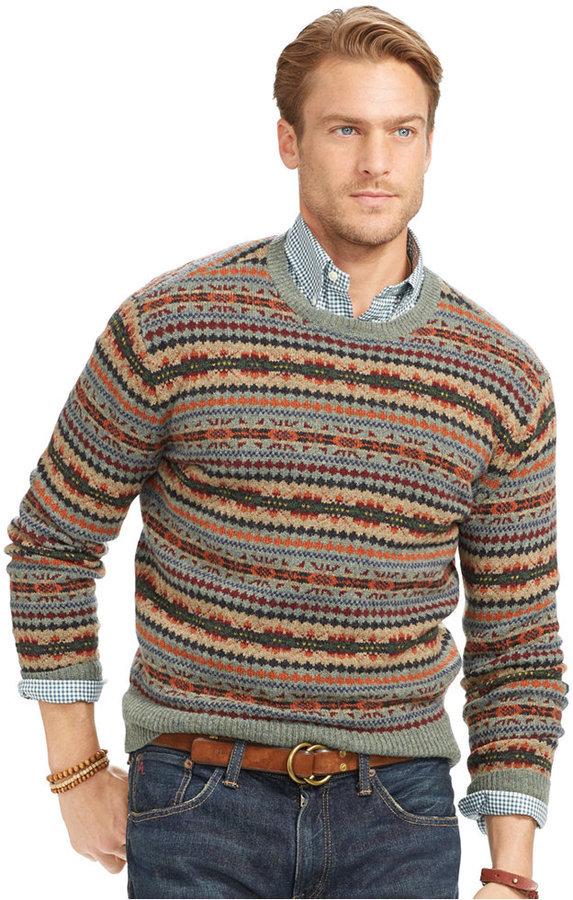 Polo Ralph Lauren Fair Isle Wool Sweater | Where to buy & how to wear