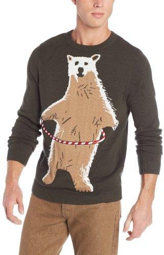 Alex Stevens Polar Bear Hoopla Ugly Christmas Sweater | Where to ...