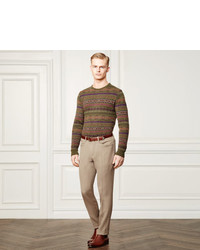 ... Ralph Lauren Purple Label Fair Isle Cashmere Sweater ...