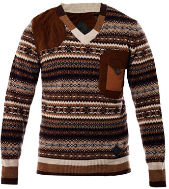 Moncler W Fair Isle Knit Sweater | Where to buy & how to wear