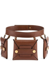 Stella McCartney Faux Leather Trio Belt Bag