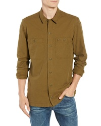 Lacoste Regular Fit Lightweight Cotton Flannel Shirt