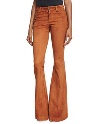 Brown Flare Pants