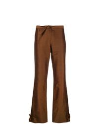 Romeo Gigli Vintage Knot Detailing Bootcut Trousers