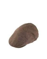 Brixton Hats Hooligan Flat Cap Brownkhaki