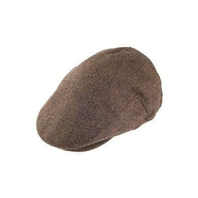 Hooligan Flat Cap Brownkhaki. Brown Flat Cap by Brixton Hats a929e64d3d4
