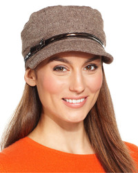 Nine West Pleated Worker Tweed Cap Web Id 1689399