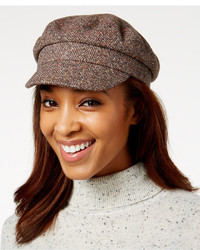 Nine West Tweed Flat Cap