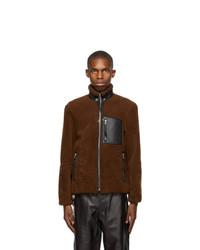Loewe Brown Shearling Jacket