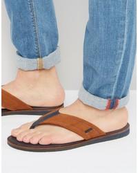Ted Baker Bault Suede Flip Flops