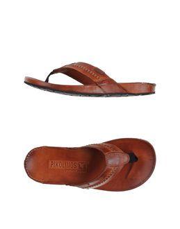 PIKOLINOS Flip Flops Clog Sandals Item 44631084