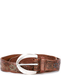 Floral engraved belt medium 4110236