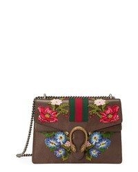Gucci Medium Dionysus Embroidered Leather Shoulder Bag