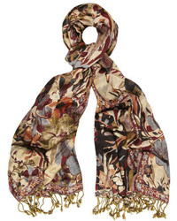 Dorothy Perkins Trailing Floral Jacquard Scarf