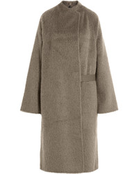 Helmut Lang Alpaca And Virgin Wool Coat