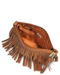 ... Mossimo Supply Co Fringe Crossbody Handbag Cognac ... 978e2bf8316a7