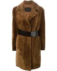 Blancha Belted Open Front Coat