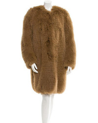 Etro Fox Fur Coat