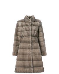 Liska Fur Mid Length Coat