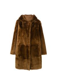 Sylvie Schimmel Hooded Shearling Coat