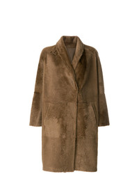 Sprung Frères Oversized Mid Length Coat