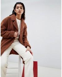 Vila Oversized Teddy Coat