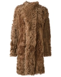 Philosophy di lorenzo serafini reversible shearling coat medium 1317189