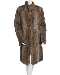 Gucci Reversible Fur Ponyhair Coat
