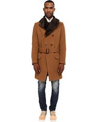 Vivienne Westwood Man Classic Melton Driving Coat Coat