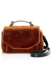 Faux fur satchel medium 6794261