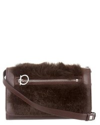 Fur trimmed crossbody bag medium 6794260