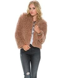 Billabong Roam Free Faux Fur Jacket