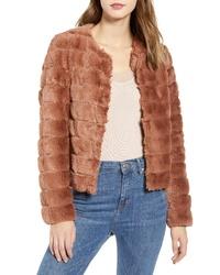 Vero Moda Vmavenue Faux Fur Jacket