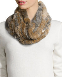 Brown Fur Scarf