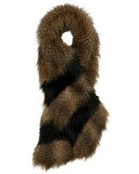 Alice Hannah London Animal Faux Fur Stole