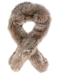Derek Lam 10 Crosby Fox Fur Scarf