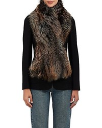 Barneys New York Fox Fur Scarf