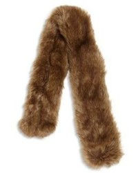 Ralph Lauren Girls Faux Fur Scarf