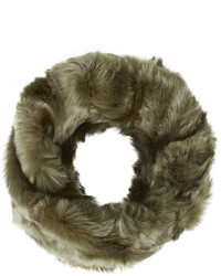 Topshop Twist Faux Fur Snood