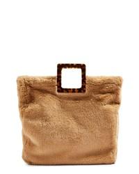 Topshop Freddy Faux Fur Tote Bag