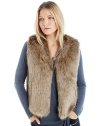 Faux fur vest medium 3831861