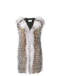 Yves Salomon Fox Fur Renard Vest