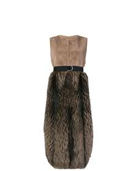 Blancha Panel Gilet Coat