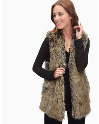 Westhaven faux fur vest medium 3832156