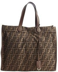 Brown Geometric Canvas Tote Bags for Women   Women s Fashion ... b90e66d64f