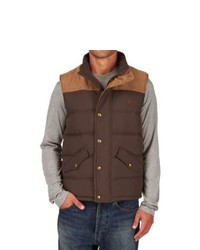 Joules burbank gilet brown medium 389632